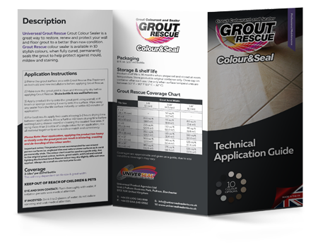Grout Rescue Product Guide